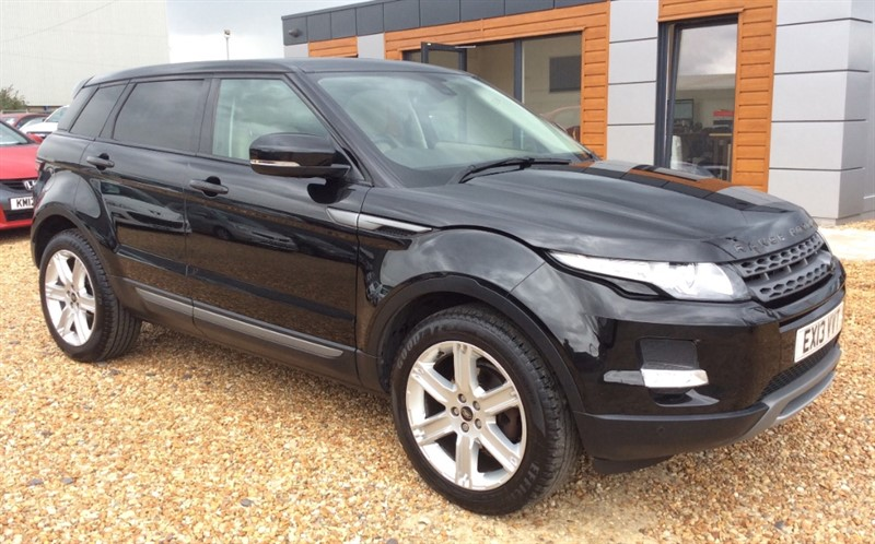 used Land Rover Range Rover Evoque SD4 PURE TECH in cambridgeshire