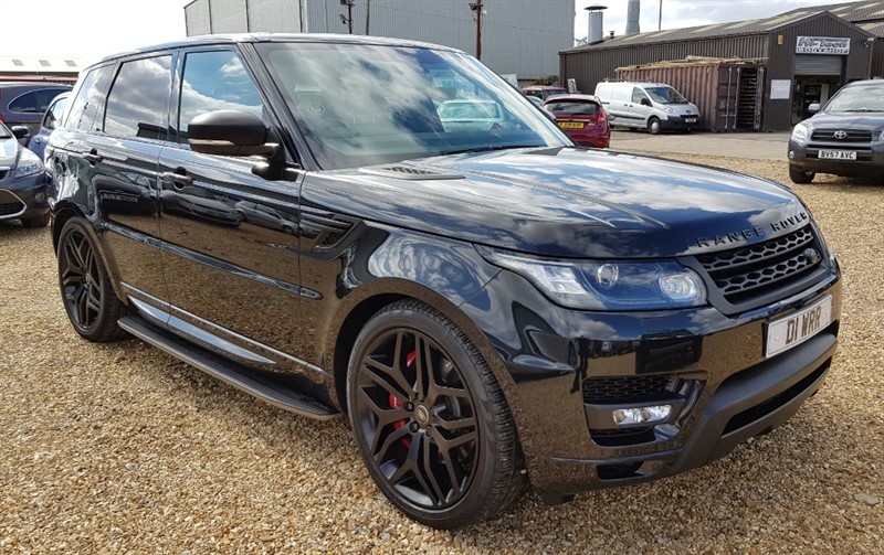 used Land Rover Range Rover Sport SDV6 HSE DYNAMIC in cambridgeshire
