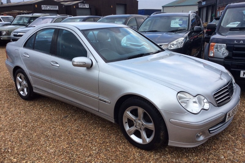 used Mercedes C200 CDI AVANTGARDE SE in cambridgeshire