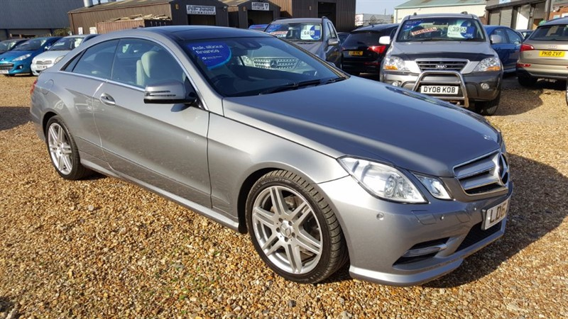 used Mercedes E220 SPT CDI 7G-Tronic BLUEEFFICIENCY SPORT in cambridgeshire