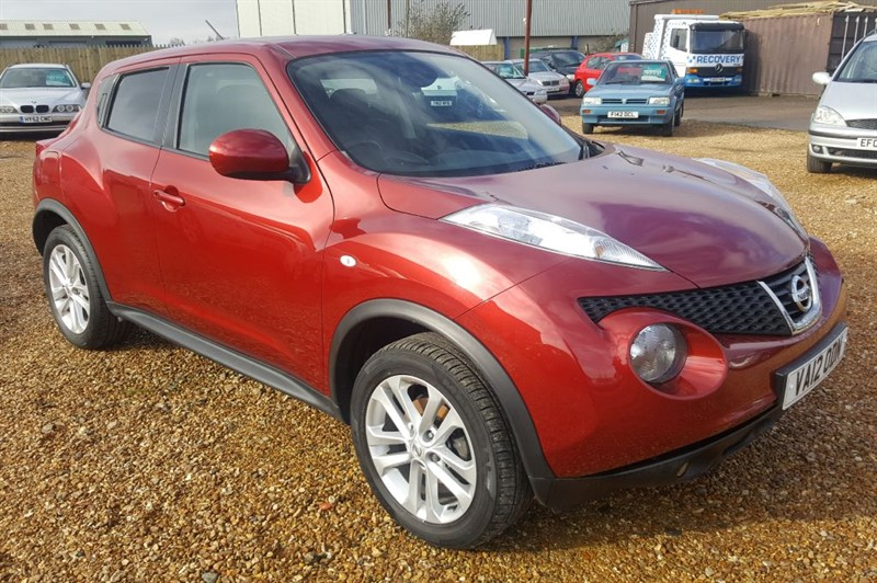 used Nissan Juke TEKNA DCI in cambridgeshire