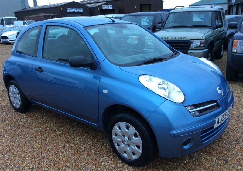 used Nissan Micra S in cambridgeshire
