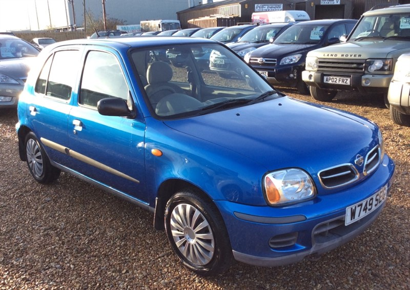 used Nissan Micra SE in cambridgeshire