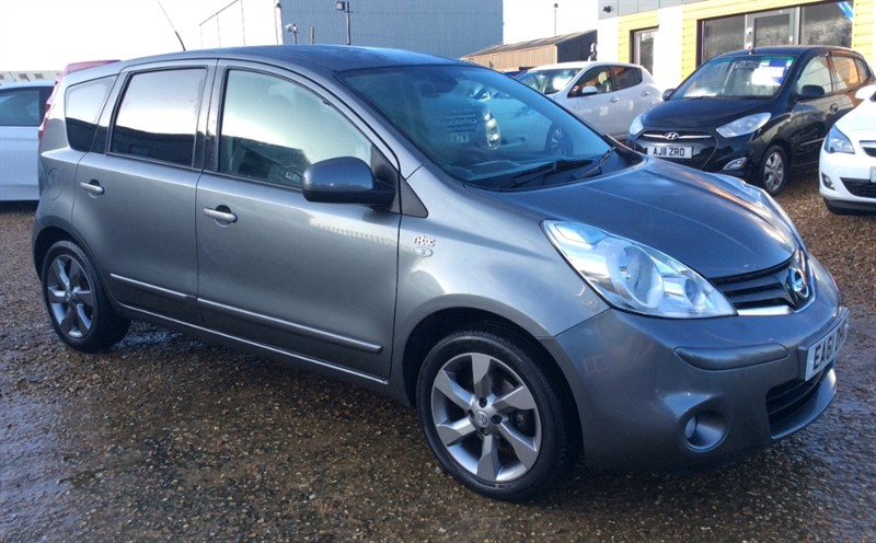 used Nissan Note N-TEC in cambridgeshire