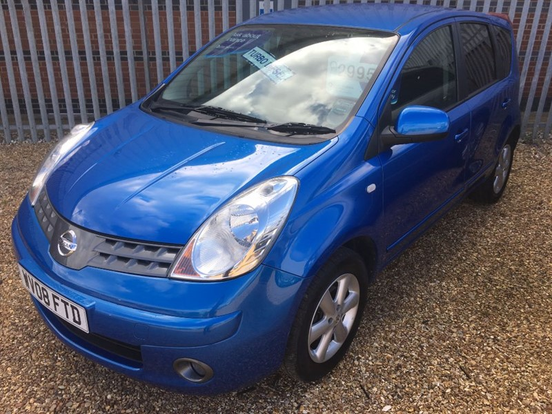 used Nissan Note ACENTA DCI in cambridgeshire