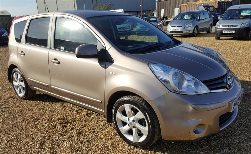 used Nissan Note TEKNA in cambridgeshire