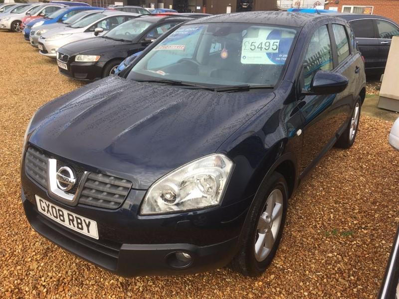 used Nissan Qashqai TEKNA 4WD in cambridgeshire