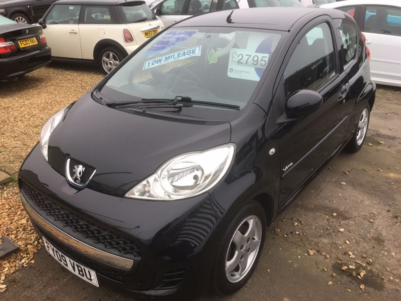 used Peugeot 107 VERVE in cambridgeshire