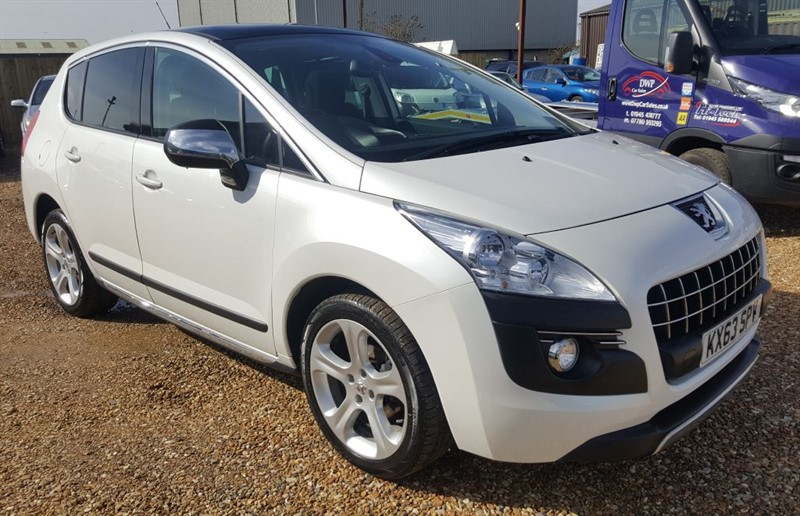 used Peugeot 3008 ALLURE HDI FAP in cambridgeshire