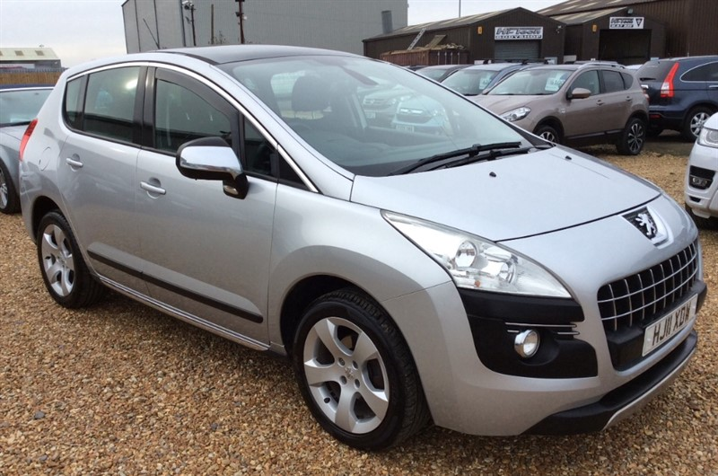 used Peugeot 3008 HDI EXCLUSIVE in cambridgeshire
