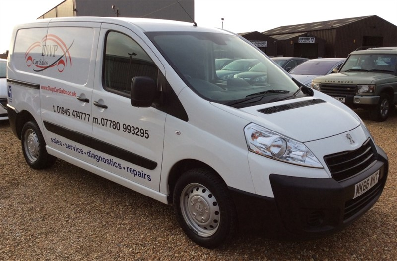 used Peugeot Expert HDI 1000 L1H1 PROFESSIONAL P/V in cambridgeshire