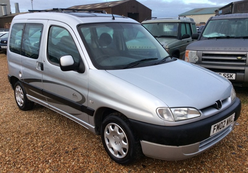 used Peugeot Partner D COMBI QUIKSILVER in cambridgeshire