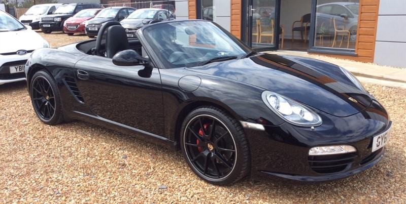 used Porsche Boxster 987 S BLACK EDITION in cambridgeshire
