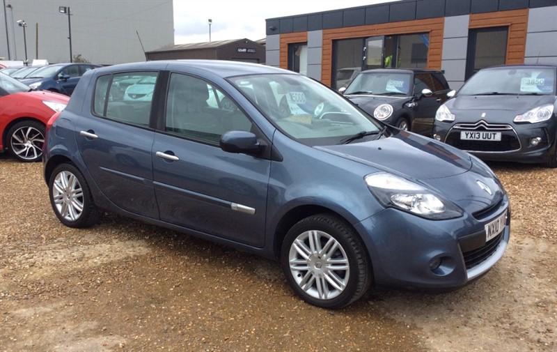 used Renault Clio INITIALE TOMTOM VVT in cambridgeshire
