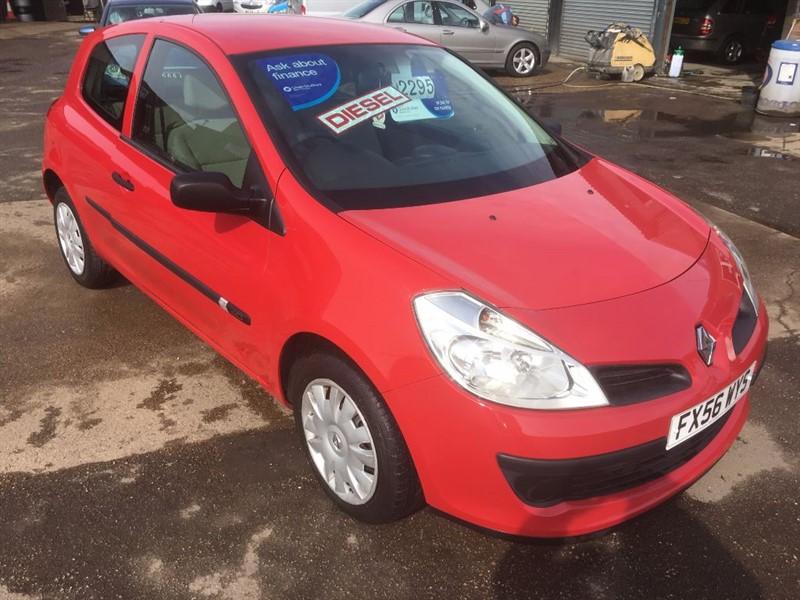 used Renault Clio EXPRESSION DCI in cambridgeshire