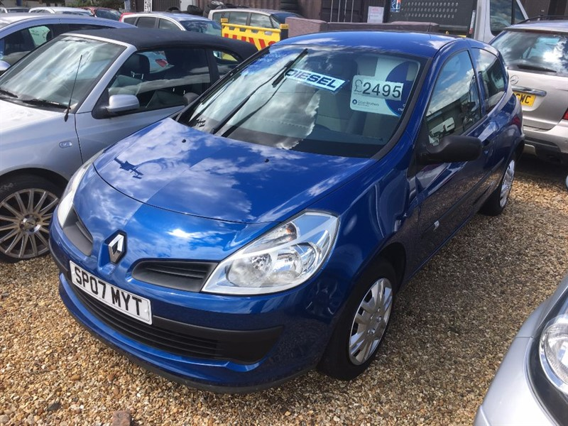 used Renault Clio EXPRESSION DCI in cambridgeshire