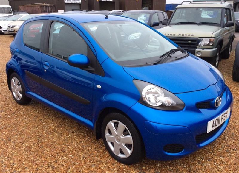 used Toyota Aygo VVT-I BLUE in cambridgeshire