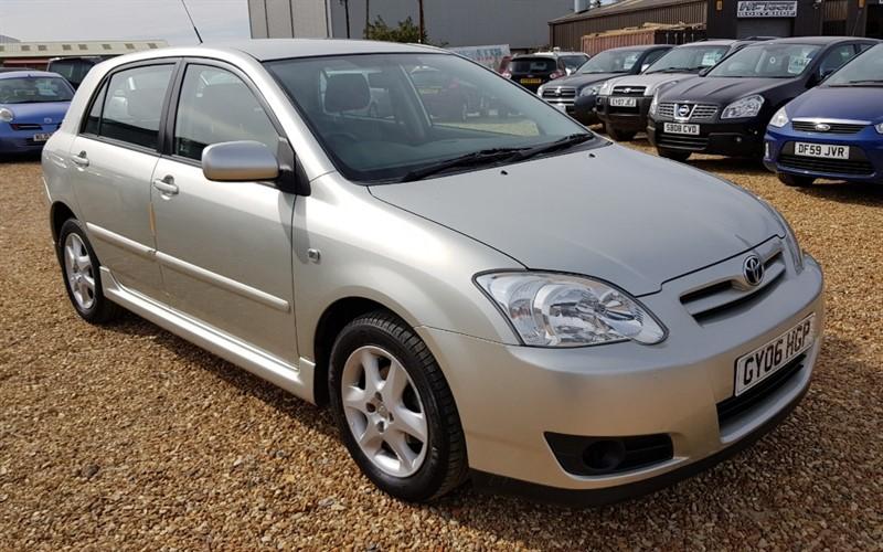 used Toyota Corolla VVTI COLOUR COLLECTION in cambridgeshire