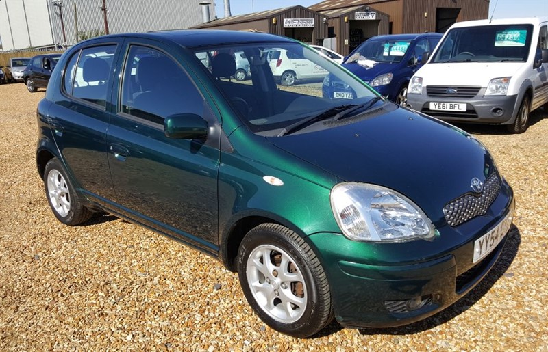 used Toyota Yaris T SPIRIT VVT-I in cambridgeshire