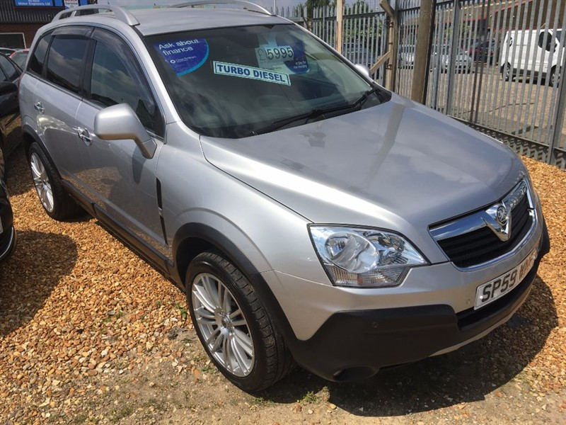 used Vauxhall Antara S CDTI in cambridgeshire