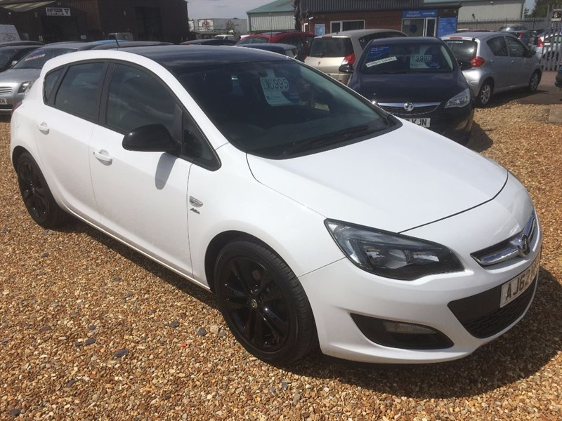 used Vauxhall Astra ACTIVE LIMITED EDITION CDTI in cambridgeshire