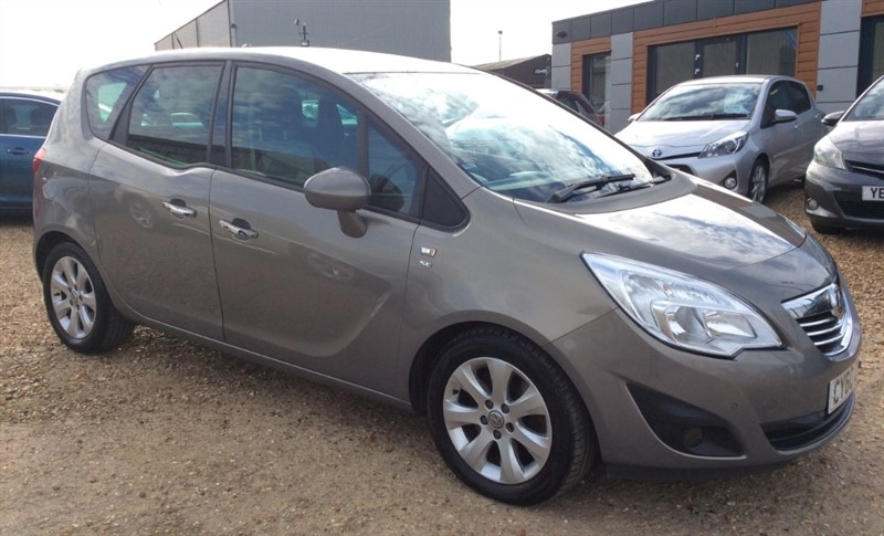 used Vauxhall Meriva SE CDTI in cambridgeshire
