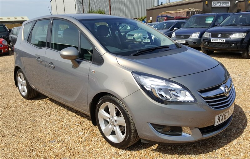 used Vauxhall Meriva TECH LINE in cambridgeshire
