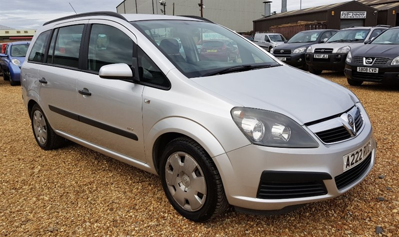 used Vauxhall Zafira LIFE 16V in cambridgeshire