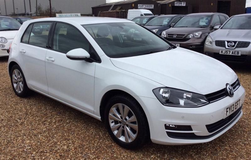 used VW Golf SE TDI BLUEMOTION TECHNOLOGY DSG in cambridgeshire