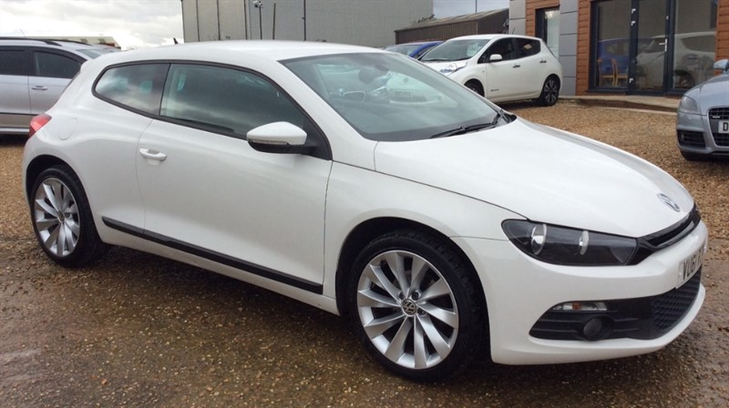 used VW Scirocco GT TDI BLUEMOTION TECHNOLOGY in cambridgeshire