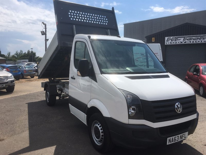 used VW Crafter CR35 TDI C/C TIPPER STARTLINE in cambridgeshire