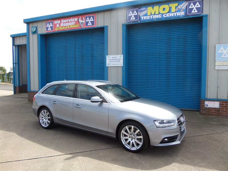 used Audi A4 Avant 2.0 TDI SE TECHNIK Sat Nav/Leather in lincolnshire
