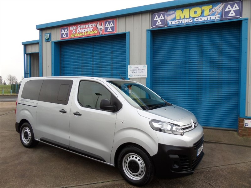 used Citroen Dispatch Combi 6 Seat Combi Van HDI Blue 115ps in lincolnshire