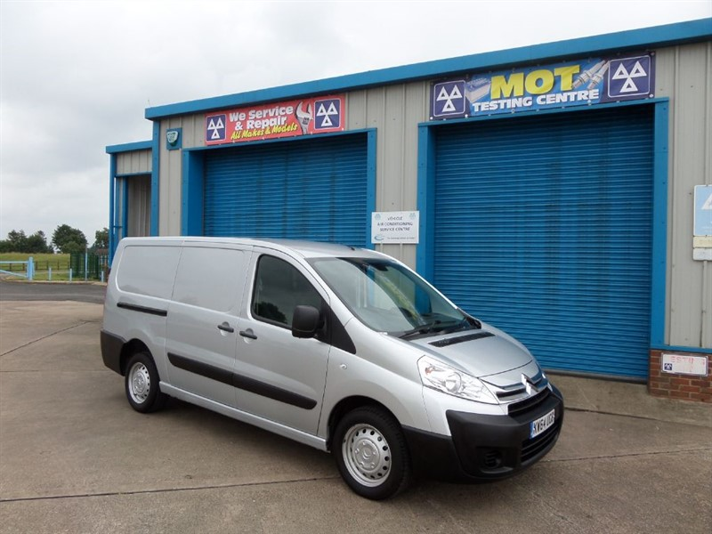 used Citroen Dispatch 1200 L2H1 HDI Long Wheel Base Twin Sliding Doors in lincolnshire