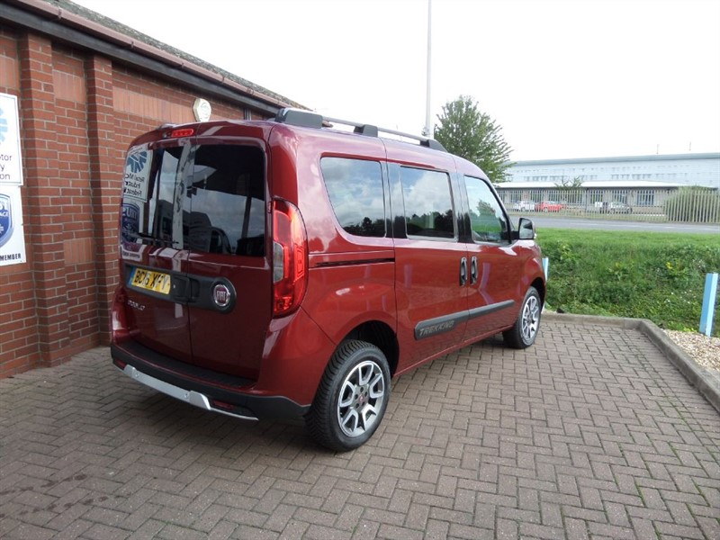 Used Red Fiat Doblo For Sale Lincolnshire
