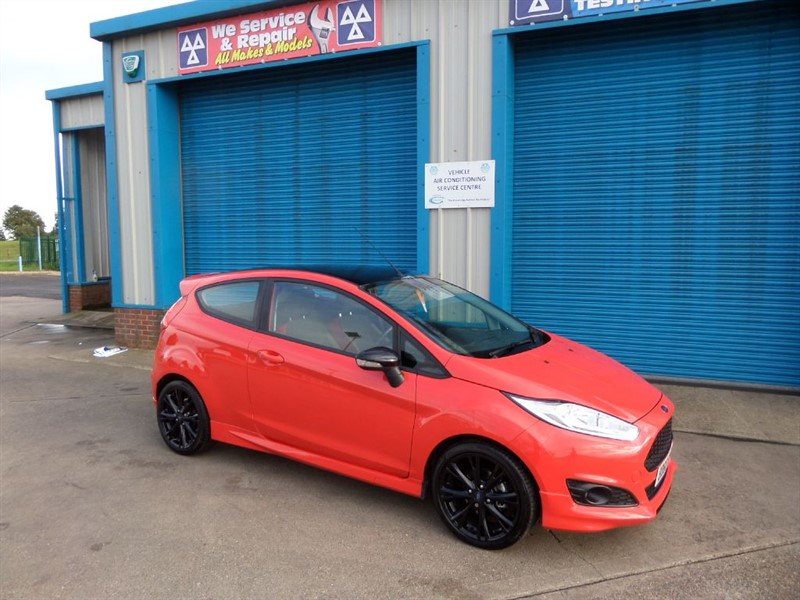 used Ford Fiesta ZETEC S 1.0 RED EDITION 140ps in lincolnshire
