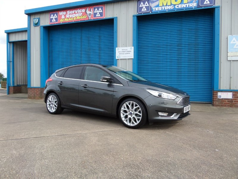 used Ford Focus TITANIUM X 2.0 TDCI Powershift Massive Spec in lincolnshire