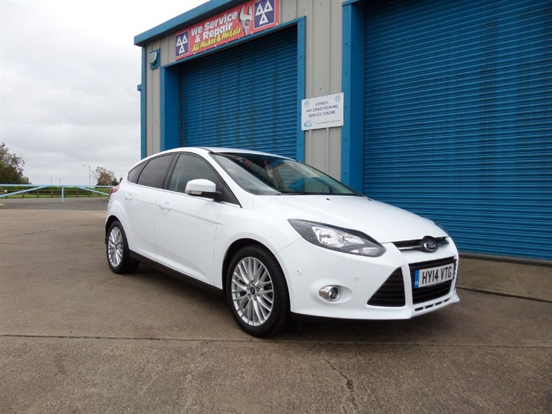 used Ford Focus 1.6 TDCi ZETEC  in lincolnshire