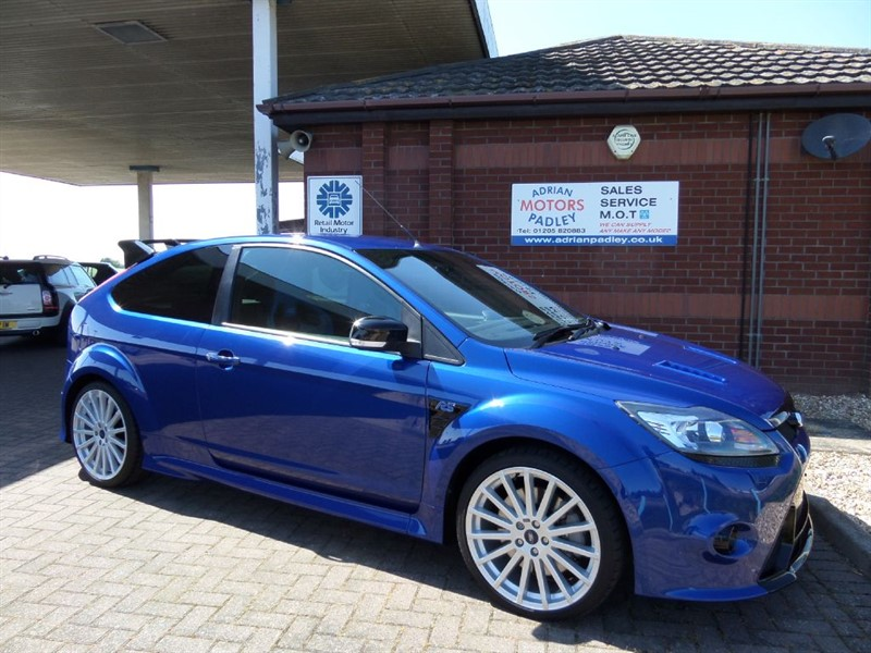 used Ford Focus RS Mk2 1 Owner 5500 miles in lincolnshire