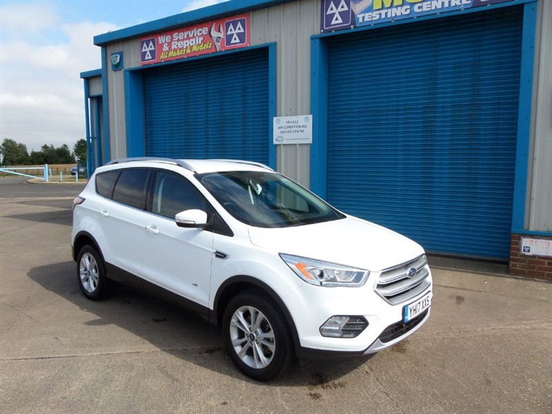 used Ford Kuga TITANIUM 2.0 TDCI 180ps 4x4 Powershift New Shape in lincolnshire