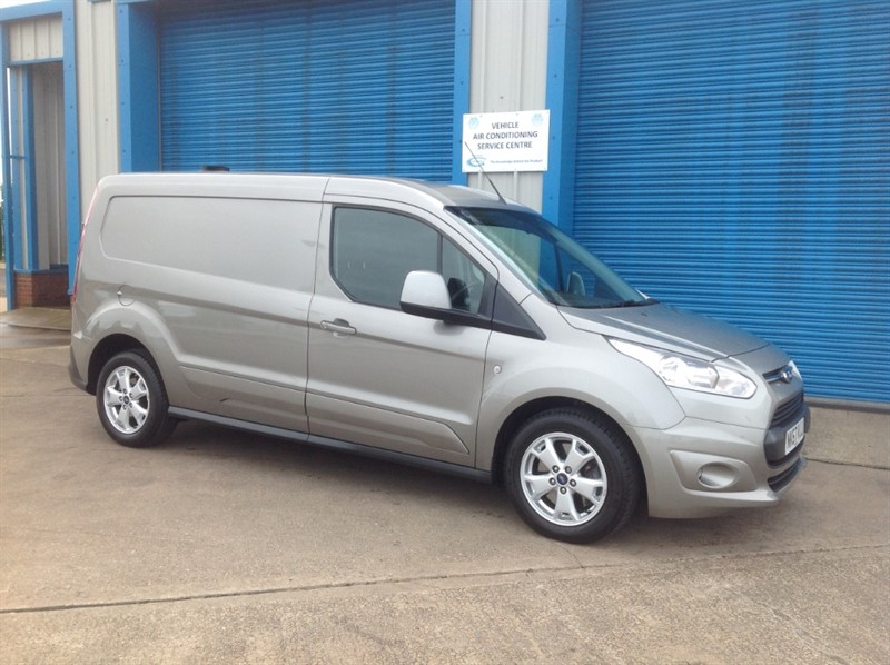 used Ford Transit Connect 1.5 TDCI 120PS 240 LIMITED LWB NO VAT in lincolnshire
