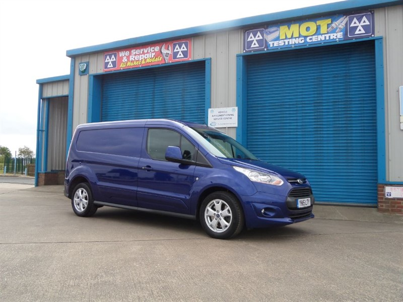 used Ford Transit Connect 240 LIMITED 1.6TDCi Long Wheel Base Van in lincolnshire