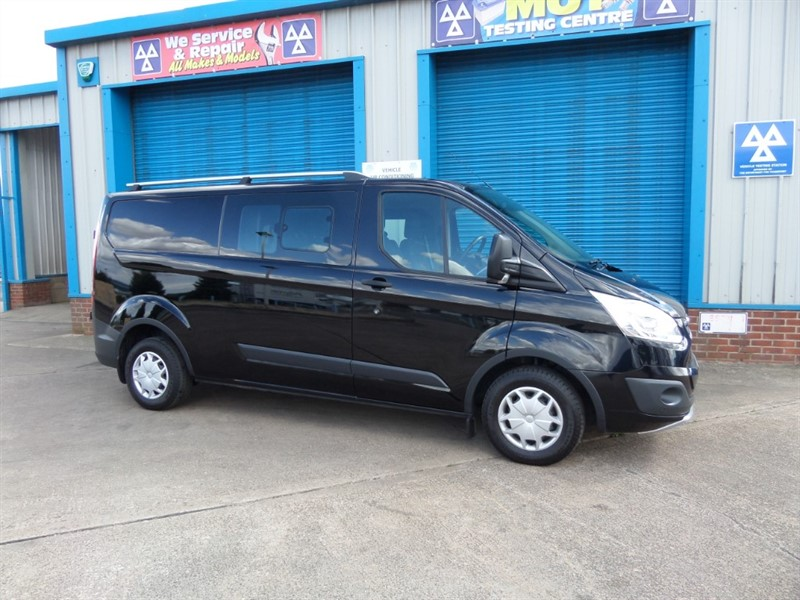 used Ford Transit Custom 310 TREND LWB Double Cab NO VAT in lincolnshire