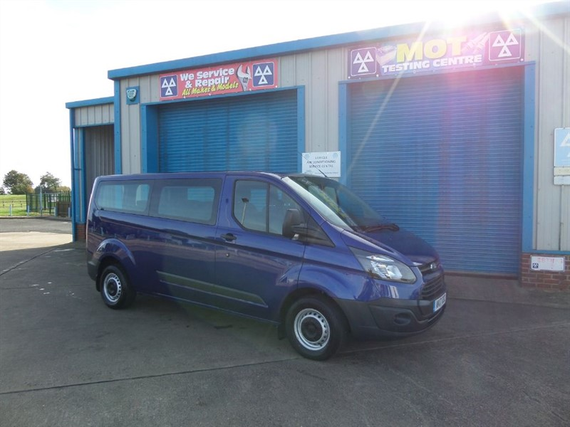 used Ford Transit Custom 310 KOMBI 2.0 TDCI 9 Seat Bus in lincolnshire