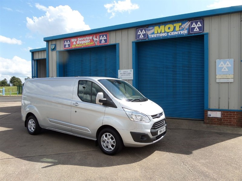 used Ford Transit Custom 290 LIMITED LWB Van in lincolnshire