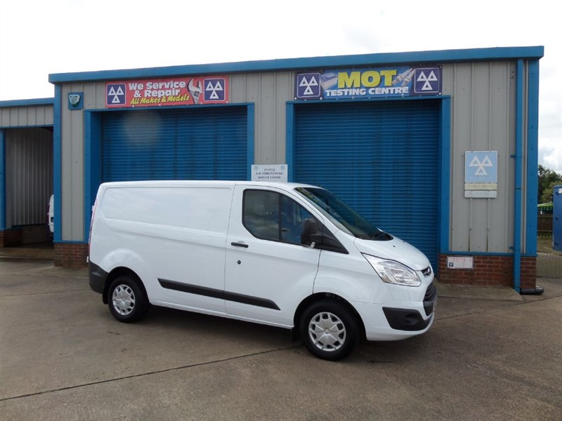 used Ford Transit Custom 270 TREND 130ps Van in lincolnshire