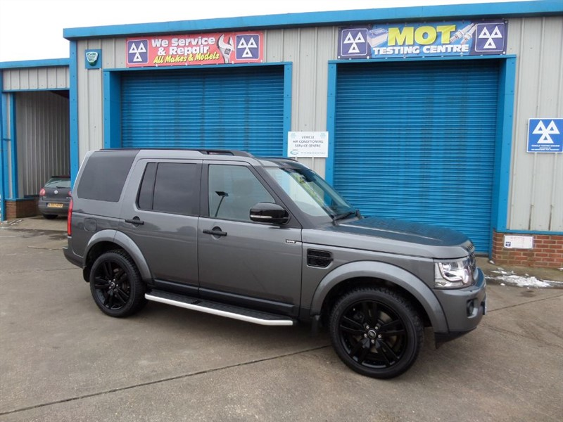 used Land Rover Discovery 3.0 SDV6 HSE LUXURY BLACK PACK  in lincolnshire