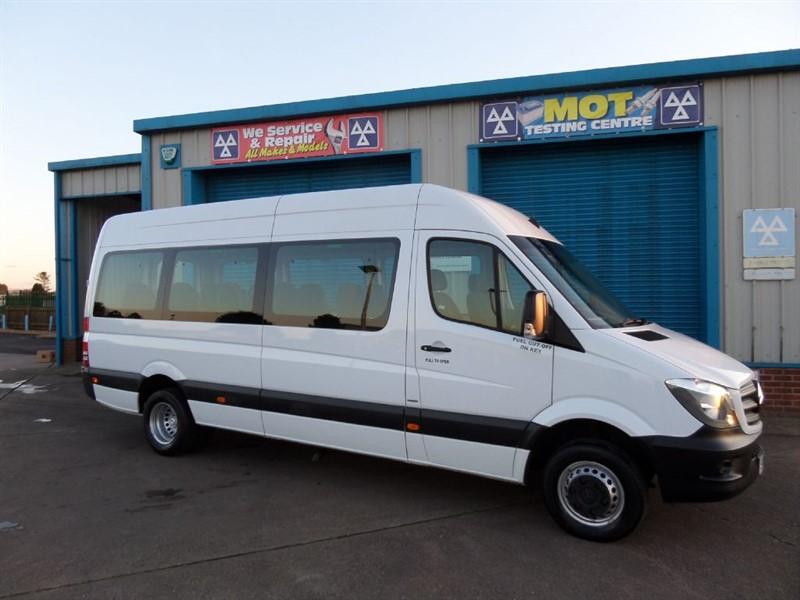 used Mercedes Sprinter 513 BLUETEC Traveliner 16 Seat Minibus in lincolnshire