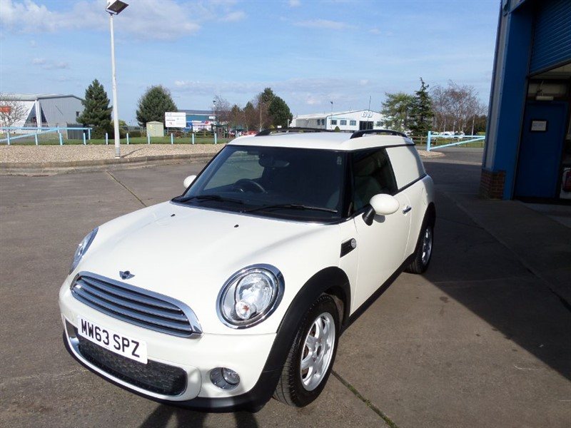 used MINI Clubvan COOPER 1.6D Van in lincolnshire