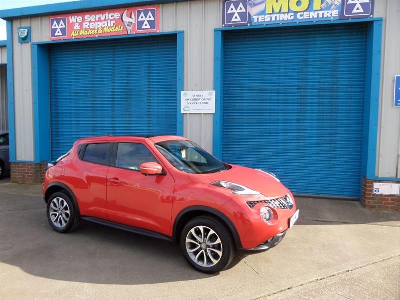 used Nissan Juke TEKNA 1.5 DCI Sat Nav/ Leather in lincolnshire